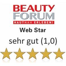 Carola Reck - Auszeichnung - Beauty Forum - Web Star