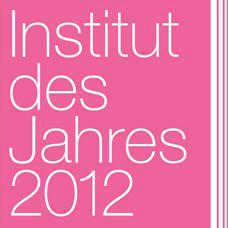 Carola Reck- Auszeichnung - Institut des Jahres 2012